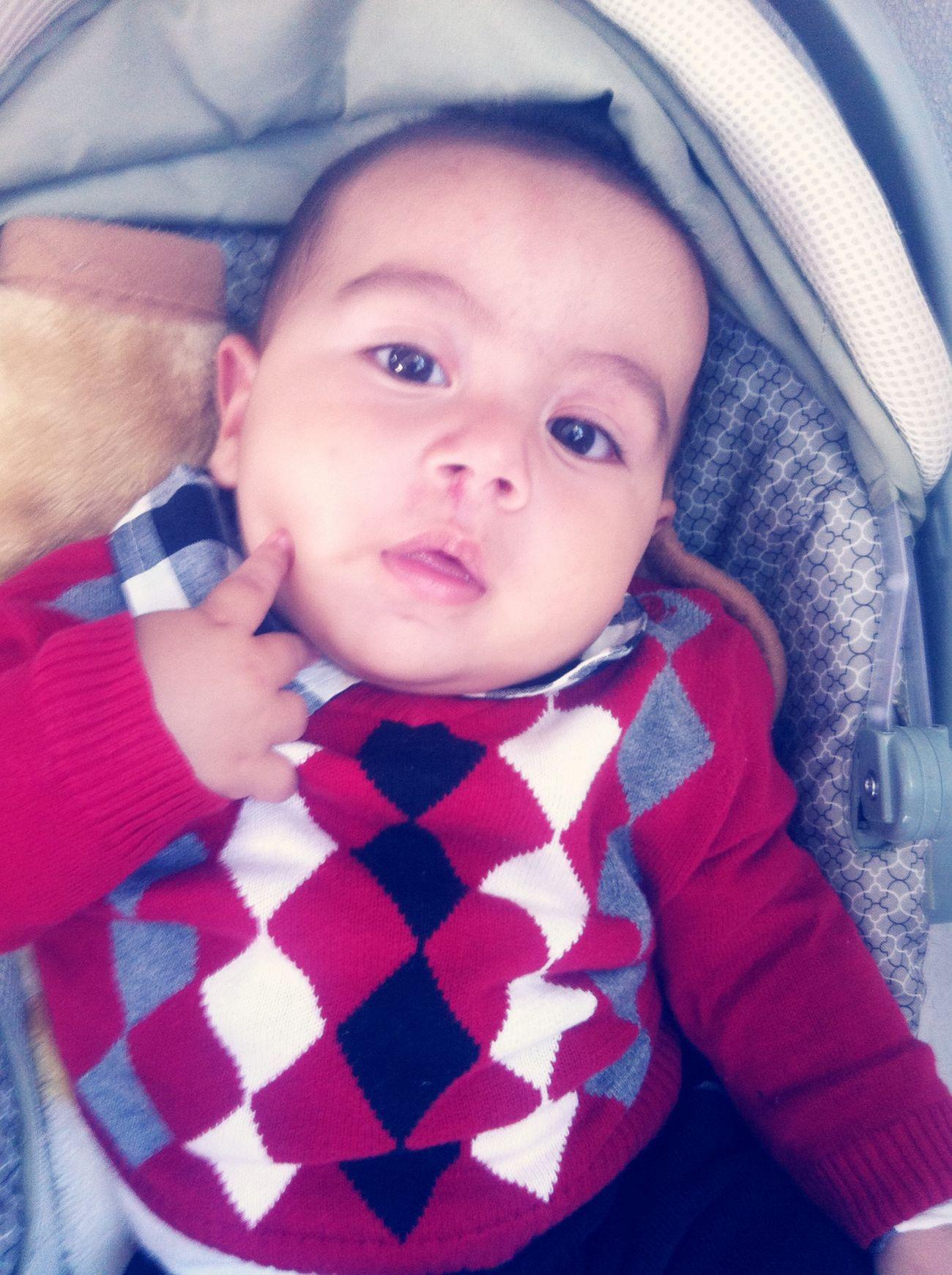 Mi gordo en la Domi!! Mybigboy Gordito My Son :) Church