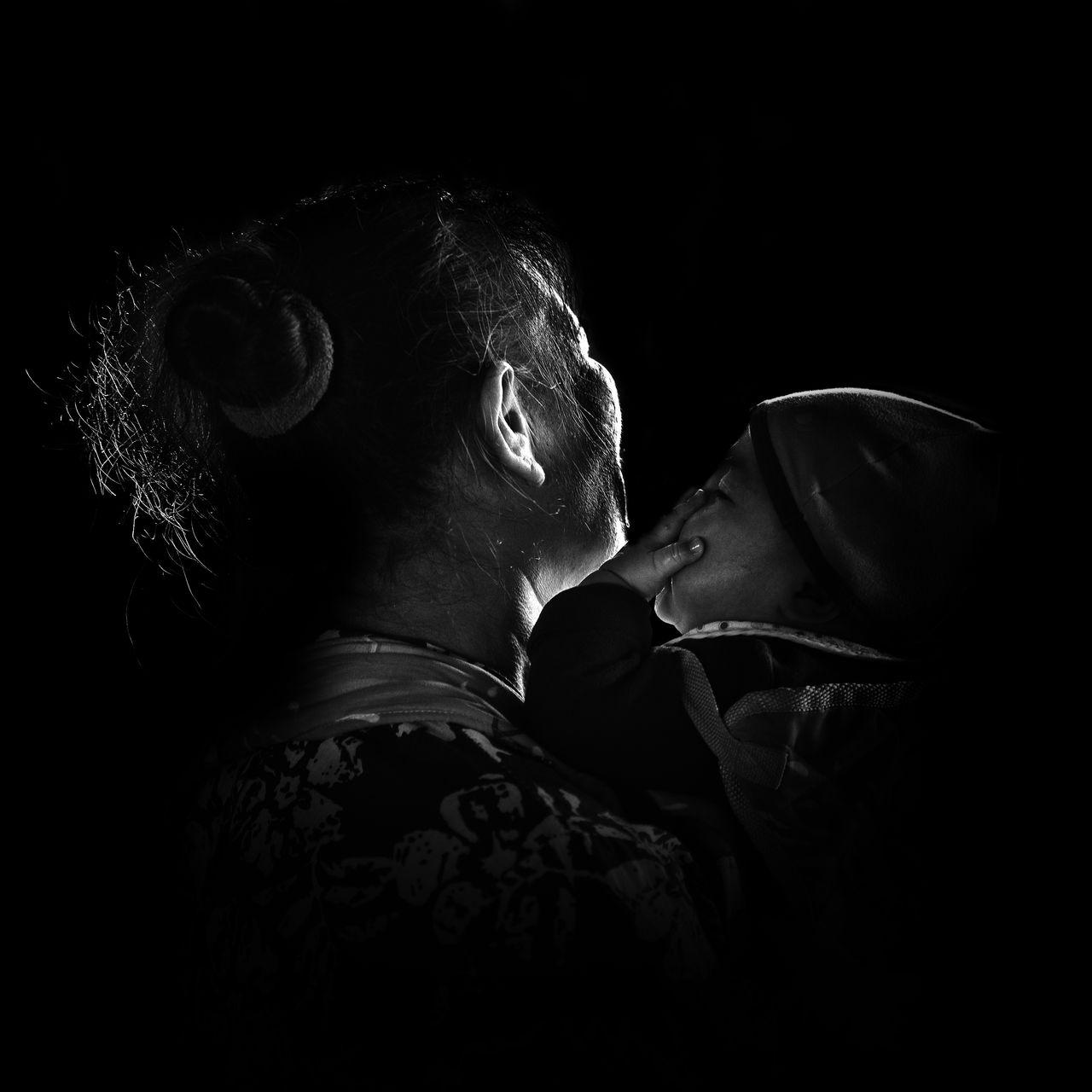 Black Background Close-up EyeEm EyeEm Gallery Indoors  Lifestyles Men Night People Real People The Portraitist - 2017 EyeEm Awards Women