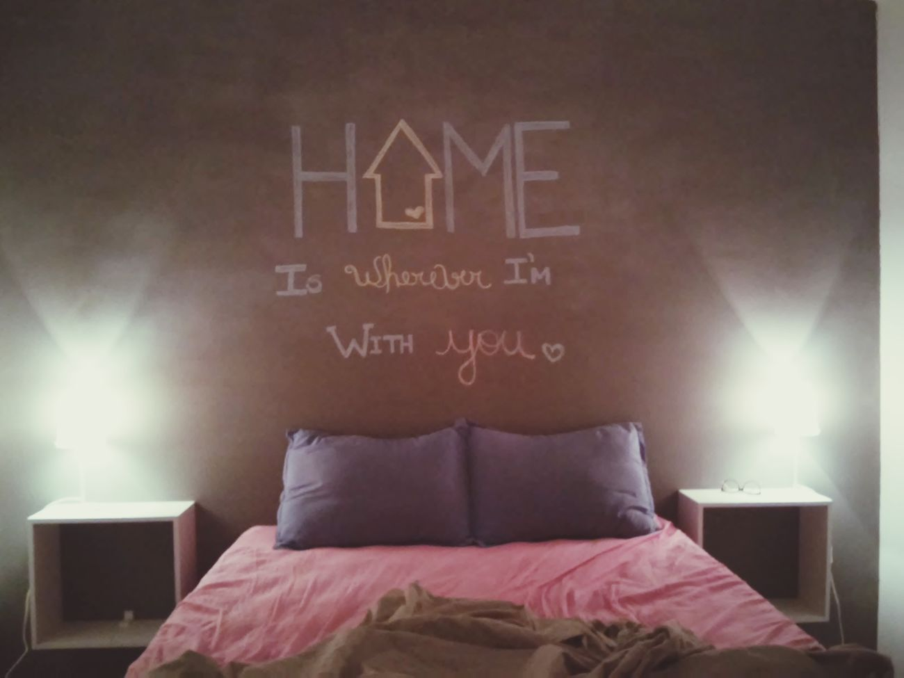 Home Chalkboard Chalkboard Wall Cute Couple My Husband Lovely Love True Love