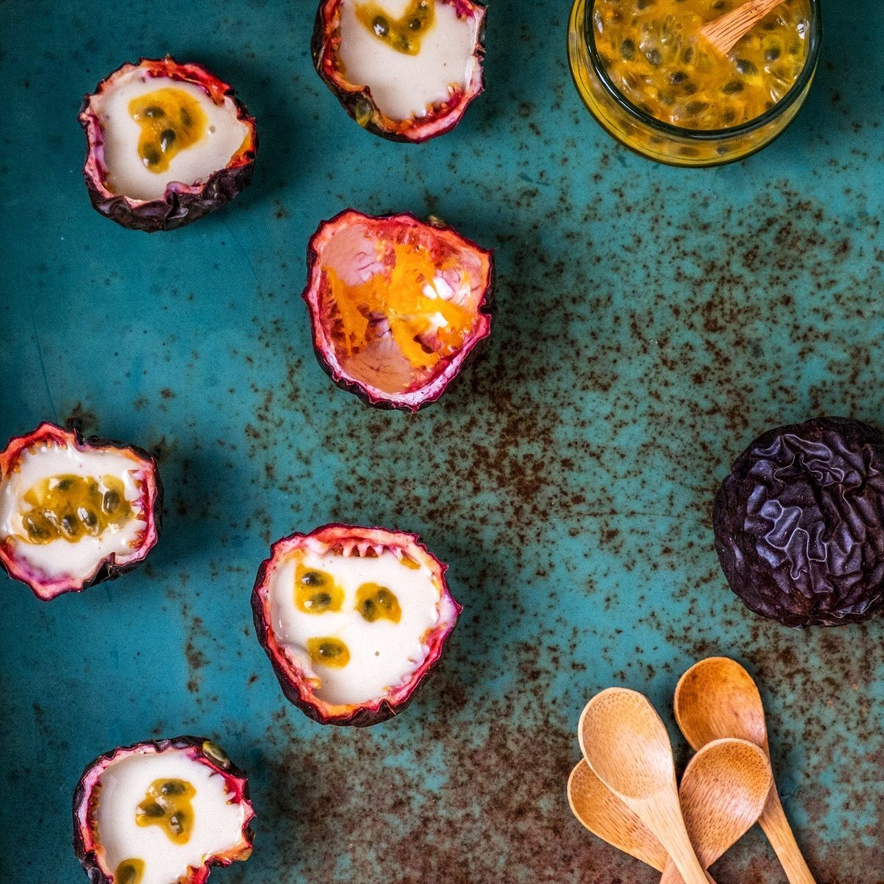 Sweet Food Dessert Foodpic Food Styling Food Photography Food And Drink Ready-to-eat Healthy Eating Fruit Vegan Food FoodPairing Passion Fruits Passion Fruit Eat The Rainbow Fresh On Market 2017