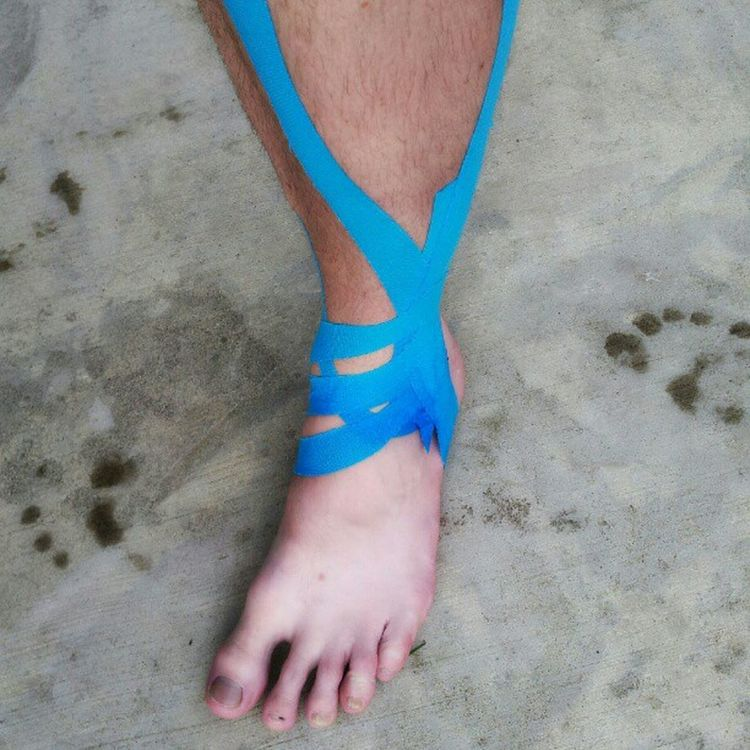 Better than a cast Stressfracture Running is on hold. Swimming is the new battle MakeItHappen