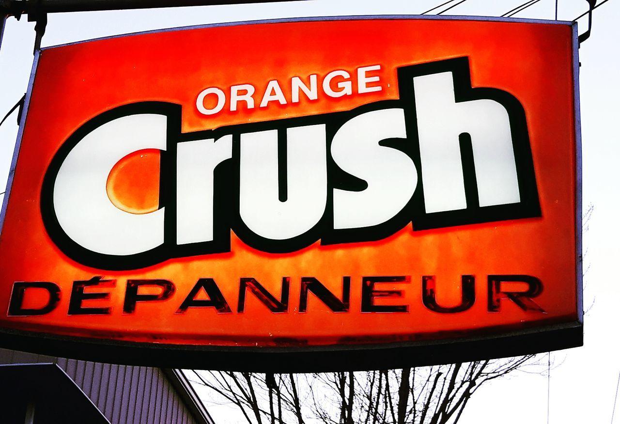 Crush OrangeCrush Orange Color Signs_collection Signporn Granby Sign Signs Vintage Vintagesigns Retro Retrosign