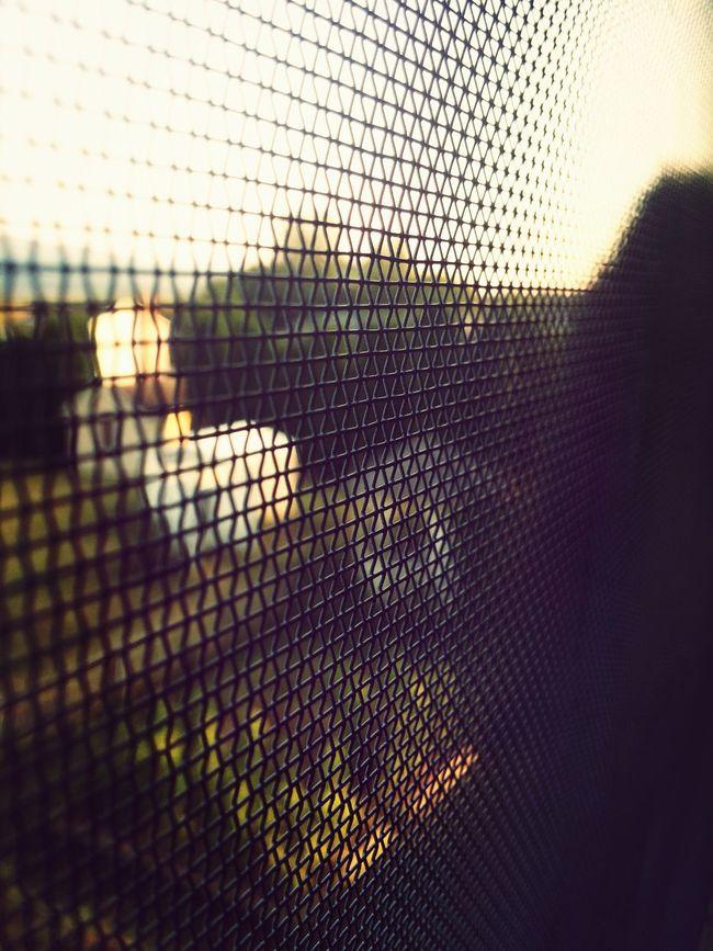 House Sun Set Window