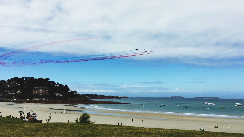 Alpha jets Sea Brittany Beach Jets Aircraft