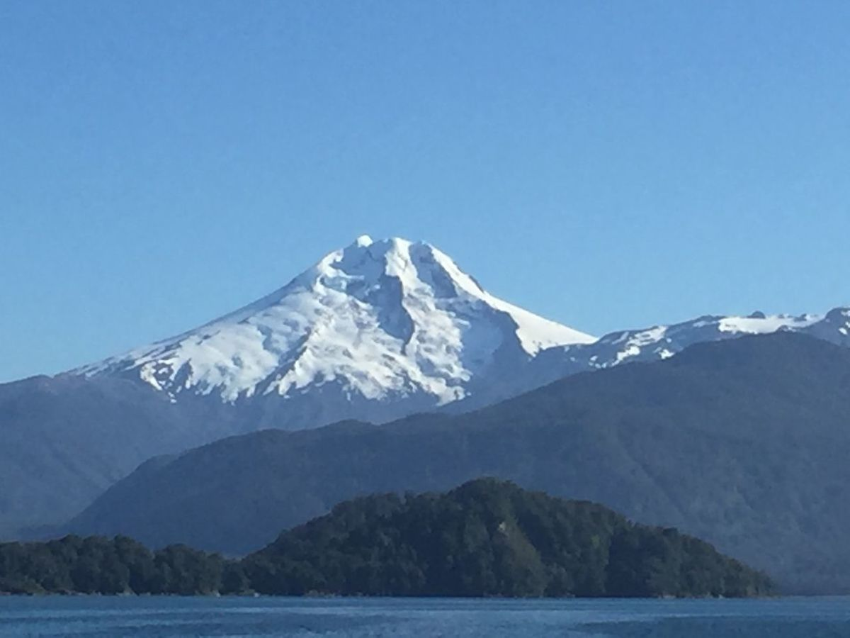 Beauty Beauty In Nature Clear Sky Cold Temperature Day Glacier Ice Idyllic Landscape Mountain Nature No People Outdoors Patagonia Chile Scenics Sky Snow Volvanoes