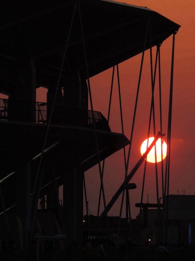 Nikon P7700 Sun Set