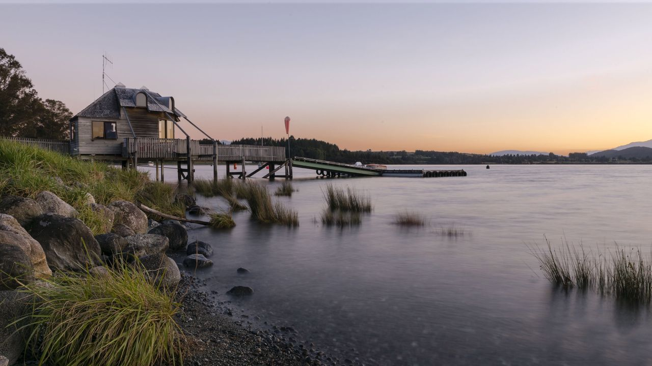 Architecture Water Built Structure Nature Bridge - Man Made Structure Building Exterior Sky Sunset River No People Connection Outdoors City Beauty In Nature Day Lake TeAnau Lakeside Miles Away