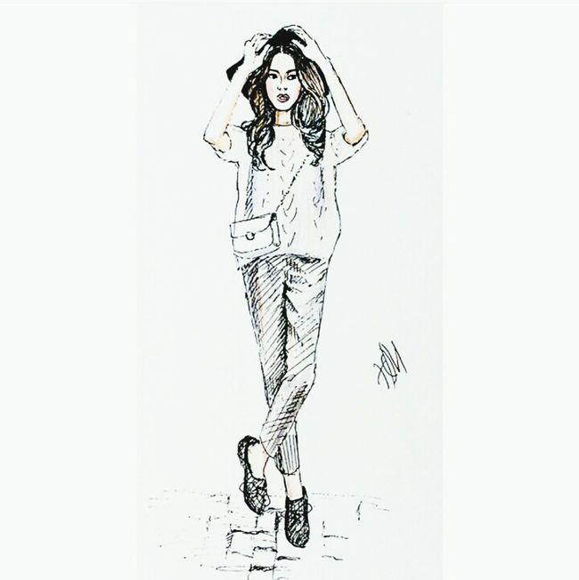 Illustration Drawing Fashionillustration Oldwork Pen Quicksketch