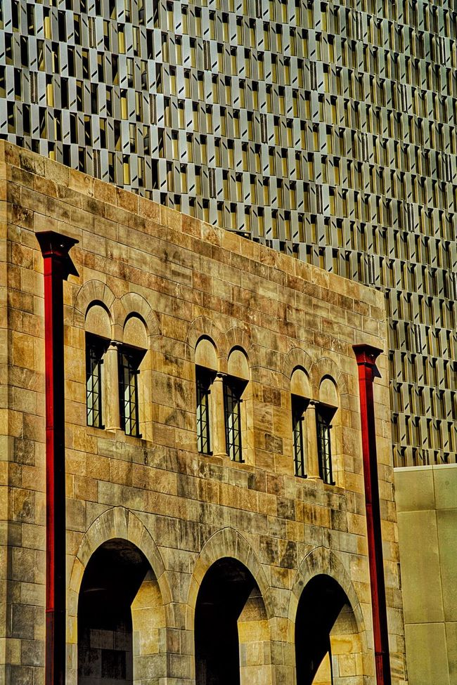 Architecture Exterior Built Structure No People Edited to Excess City Building City Life Tobin Center Cultural Art Texas Style San Antonio