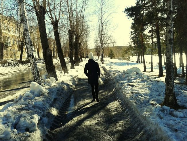 Urban 4 Filter Urban Nature Light And Shadow Snow ❄ Day Emotions Fresh Air Fotography Photo Around You прогулка
