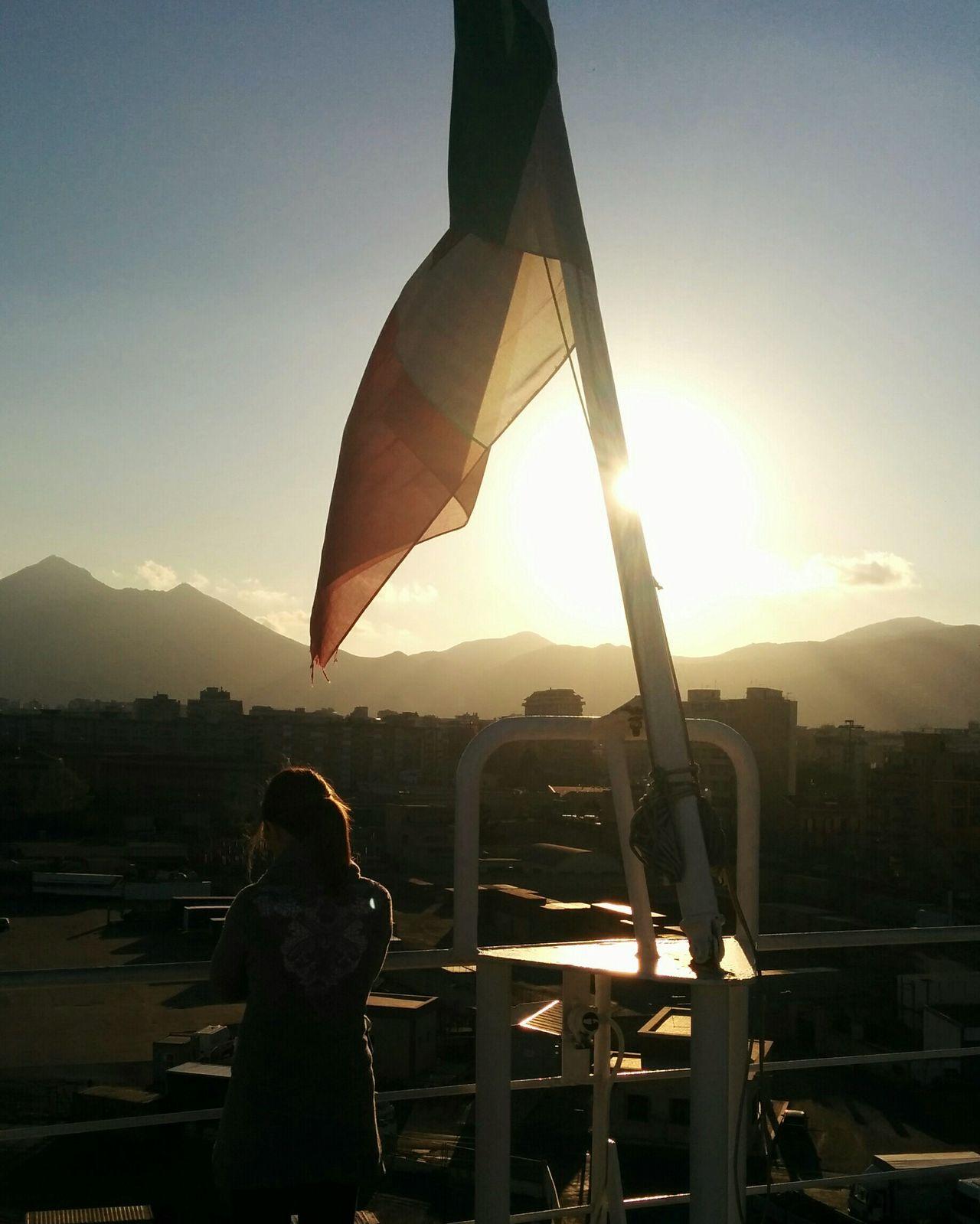Il sud al tramonto RePicture Travel Sunshine Travelling Carpe Diem Backlight In The Sun Ship
