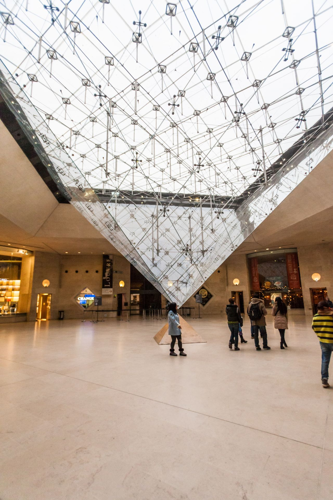 Holiday in France - The Louvre Museum during winter Christmas Architecture Christmas DaVinciCode Europe France Heritage Historical Building Lourve LourveMuseum Louvre Mona Lisa Monument Museum Paris Paris, France  Pyramid Pyramide Du Louvre The Lourve The Louvre The Louvre Museum  Tourism Tourist Winter