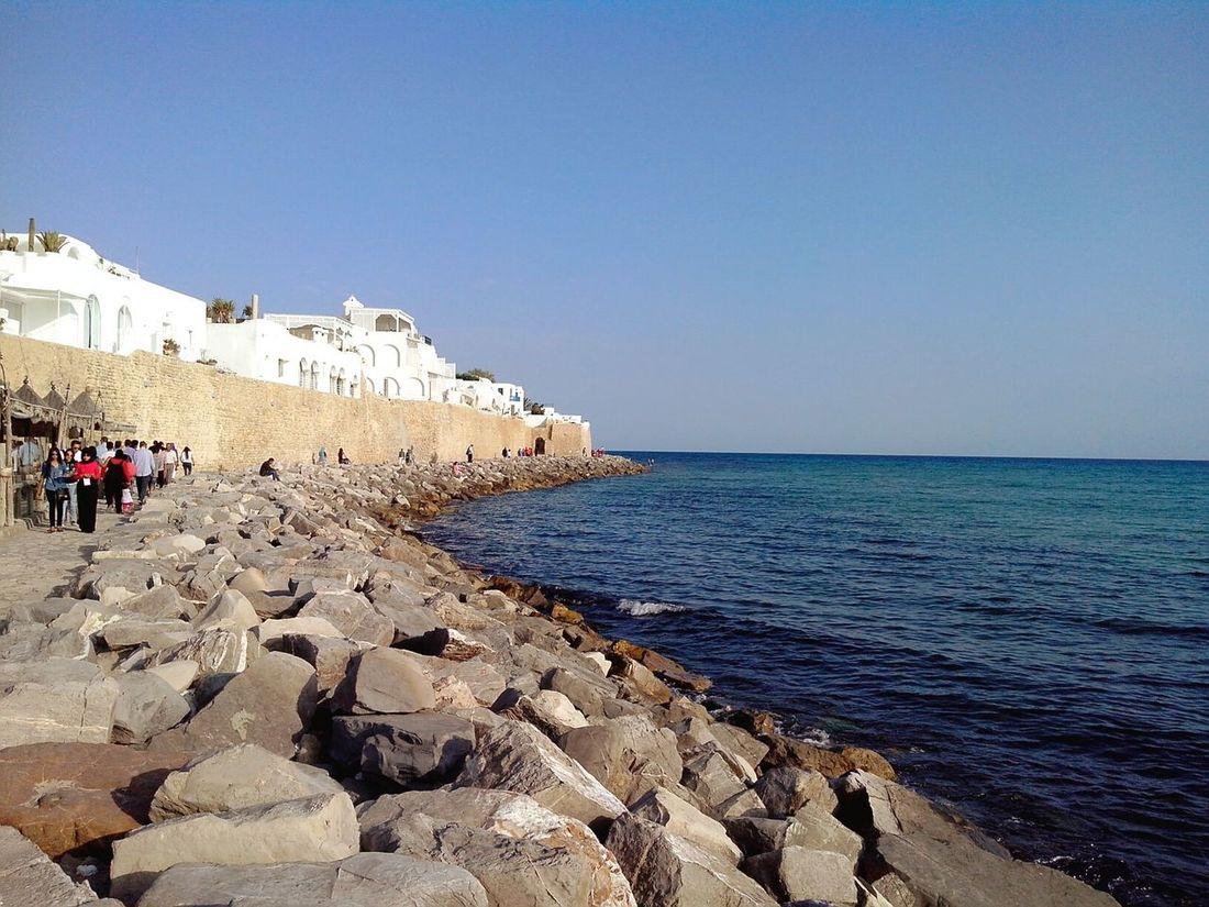 Enjoying The Sun Eyeem Tunisia Vue Sur Mer Sunshine