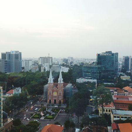 Sài gòn City Life Modern Day Sky