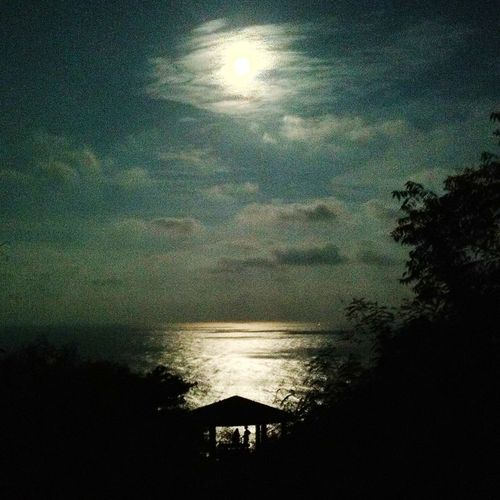 Romantic night , Moonlight Night And Swasea and moonlight Sea And Moonlight, Romance, Romantic Horizon Over Water Sea Tranquility Water Scenics Tranquil Scene Reflection Beauty In Nature Remote Dark Majestic Solitude Nature Ocean Beach Cloud Sky Moon