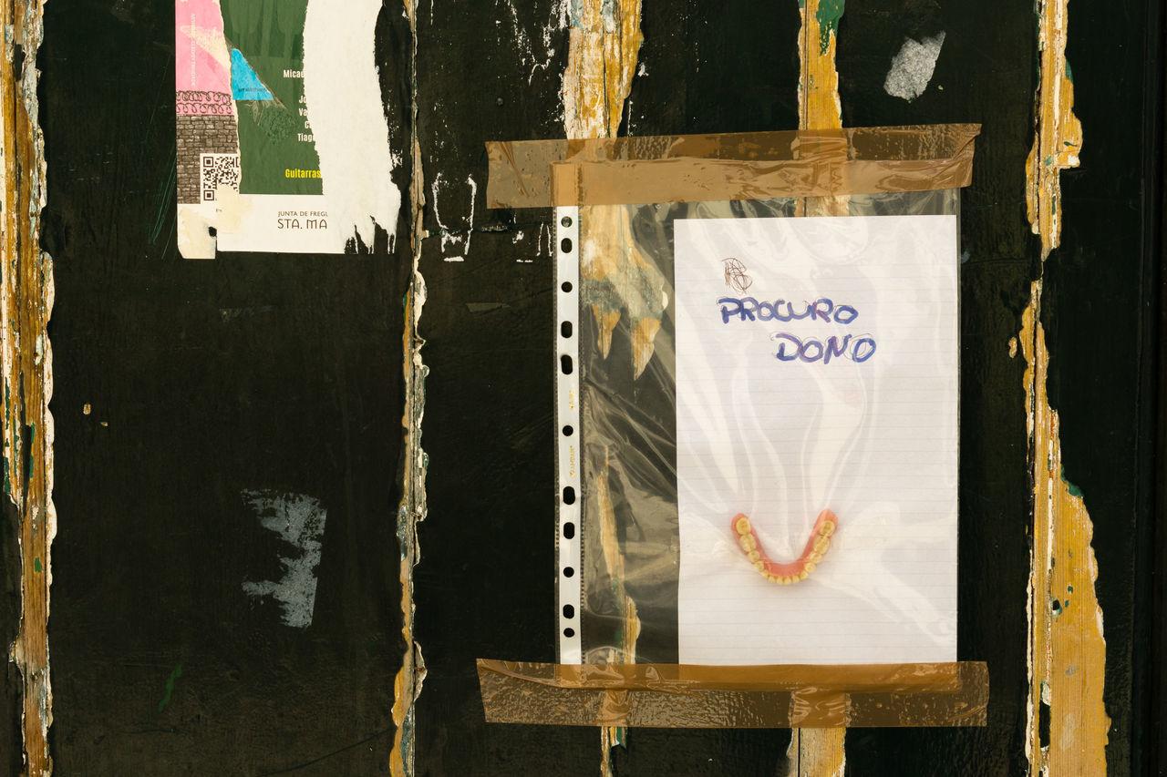 Close-up Denture Lisboa Lisboa Portugal Lisbon No People Teeth Wood - Material