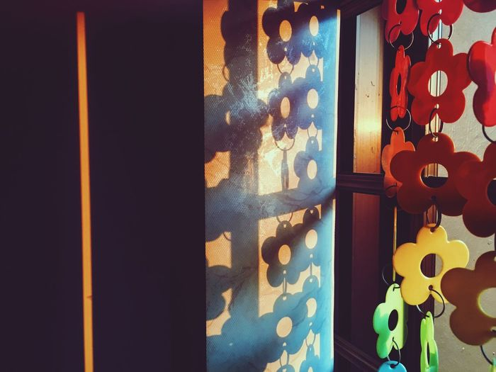 Home Is Where The Art Is Home Abstract Shadows & Lights Sunset Colors Colorful Wall Life Everyday Life Everyday Lives Flowers Colour Of Life