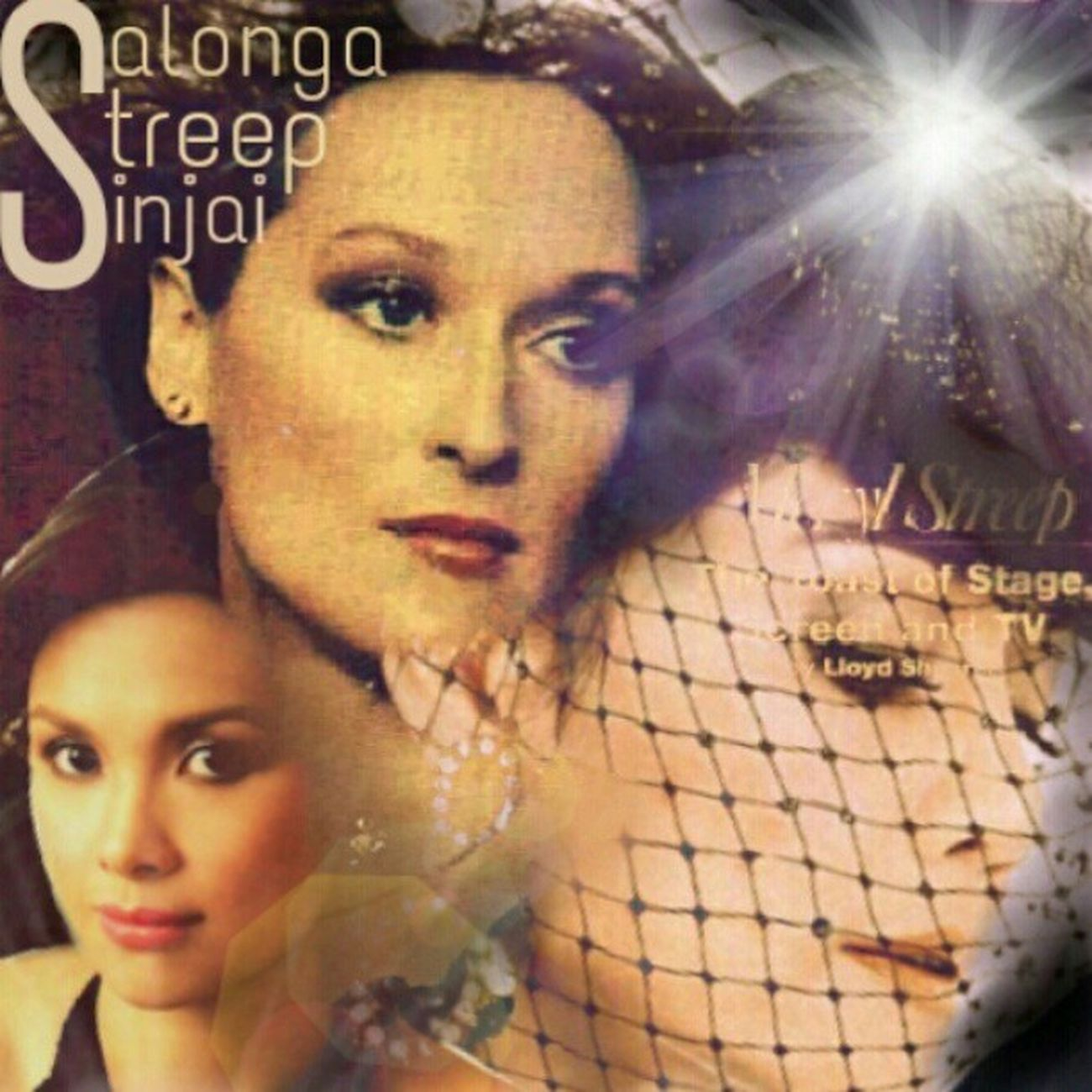 Freak out with these ladies : the original Merylstreep & Leasalonga plus Extra Noksinjai