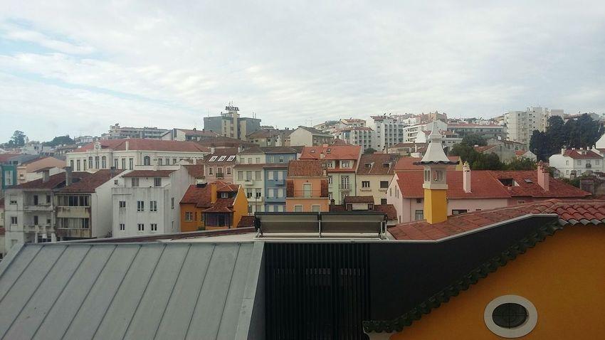 Architecture City No People Outdoors Cityscape Building Exterior Day Urban Skyline Sky Leiria Leiria Portugal