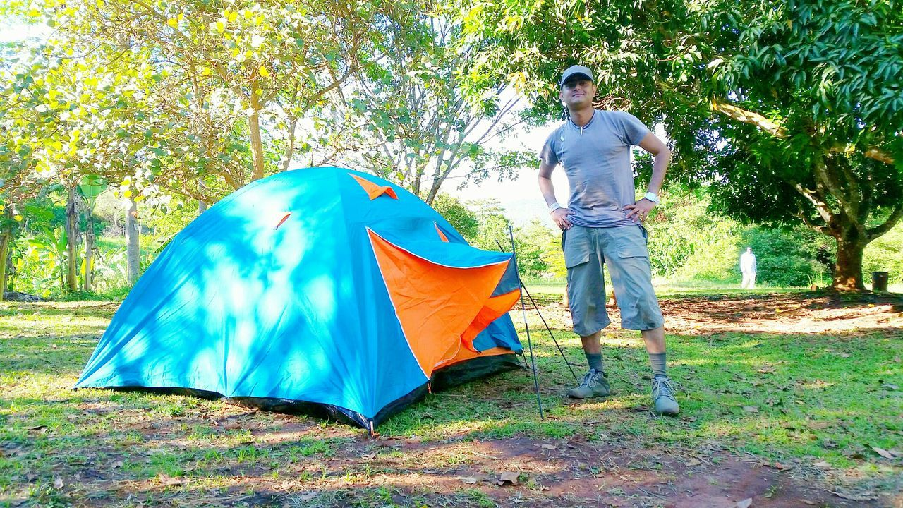 My Tent Camp Picnic Check This Out That's Me Enjoying Life Hanging Out Hello World Africa Uganda  Tour To Africa