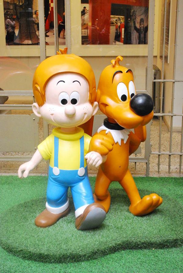 Boy And Dog Cartoon Characters Comics Day Dog Old Comics Pluto Prints
