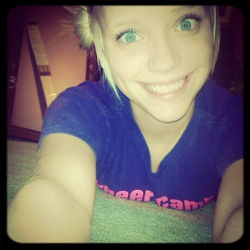 putting on a fake smile, to hide my aching pain :)