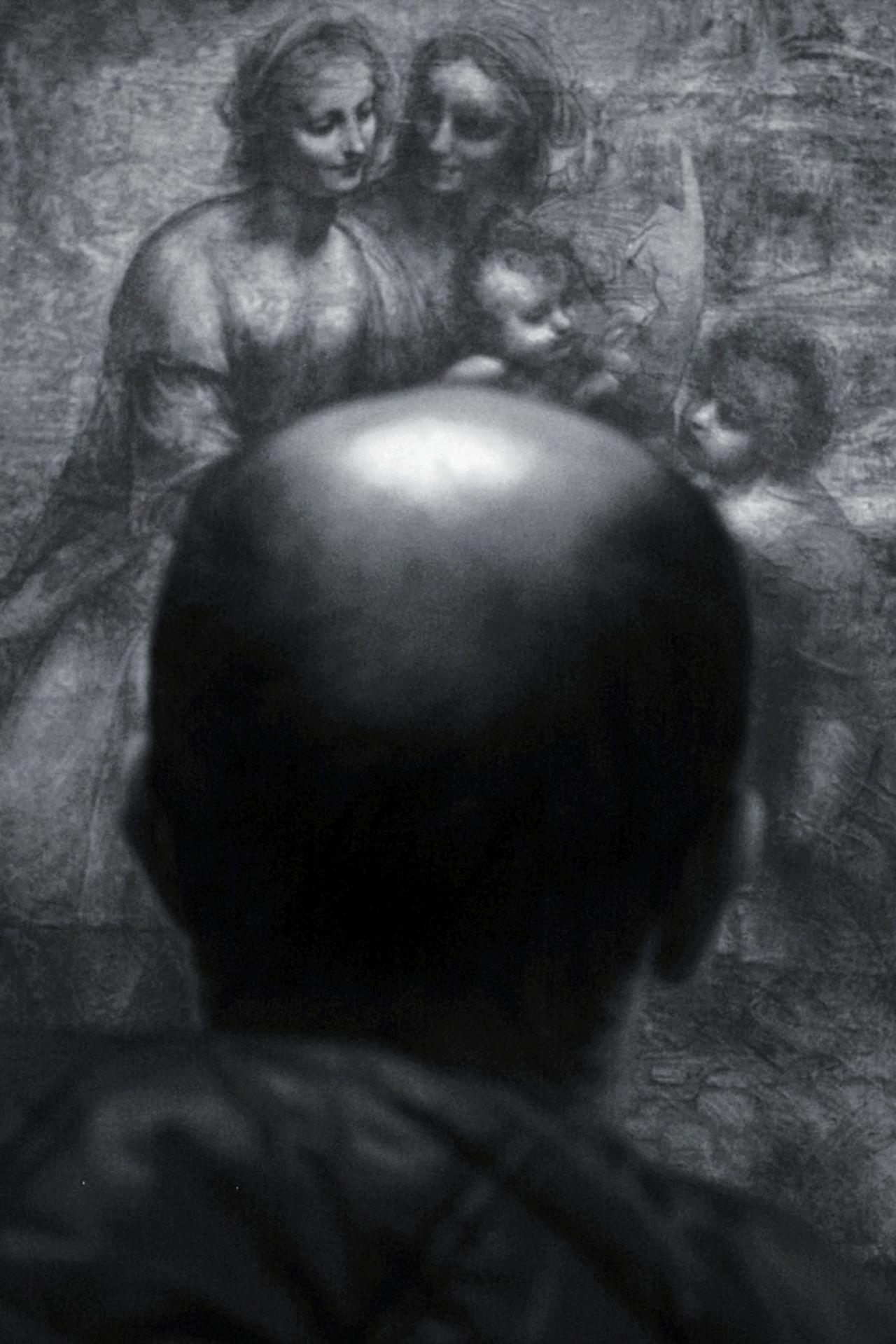 National Gallery  National Gallery Of Art Leonardo Da Vinci Focus On Shadow Paint Painting Man Man Made Object Manual Focus