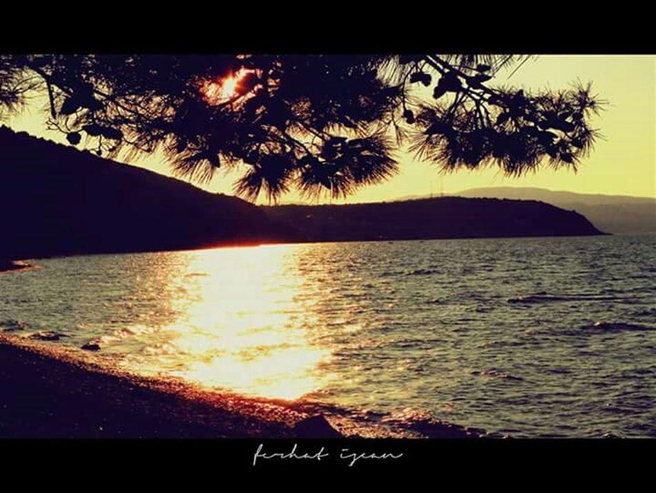 Kursunlu Bursa / Turkey Sunset Seaside Nature Lanscape
