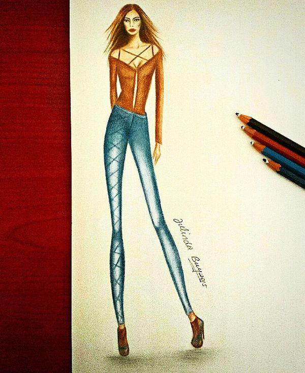 •Fashion drawing•✏ (all right riserved🔏) Fashion FashionDesigner Byjulinda Art Drawing Fashionblogger Colletion Illustration Colored Pencil Altamoda