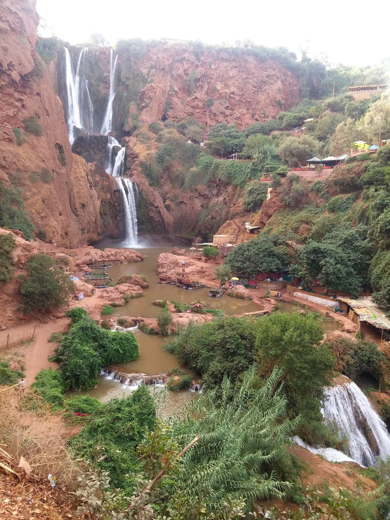 Ouzoud falls in Azilal - Morocco. Sky Mountains Water Waterfall Water_collection Tree Colors View Summer Summer2016 Photo Photography Photooftheday Picture Wonderful Beautiful Nature Landscape Nature Photography Beautiful Nature Great View Ouzoud Falls Ouzoud Azilal Morocco
