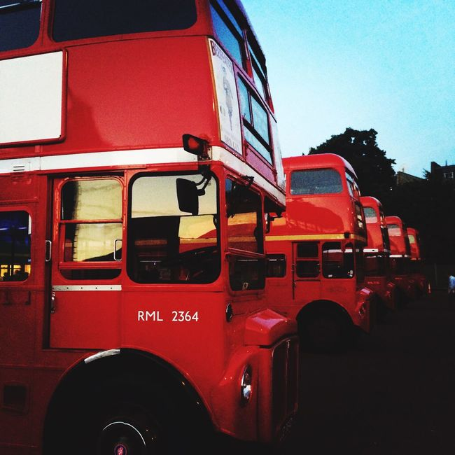 Vintage Buses London Bus Routemaster Red Bus Red London London_only Double Decker Bus Double Decker Old-fashioned