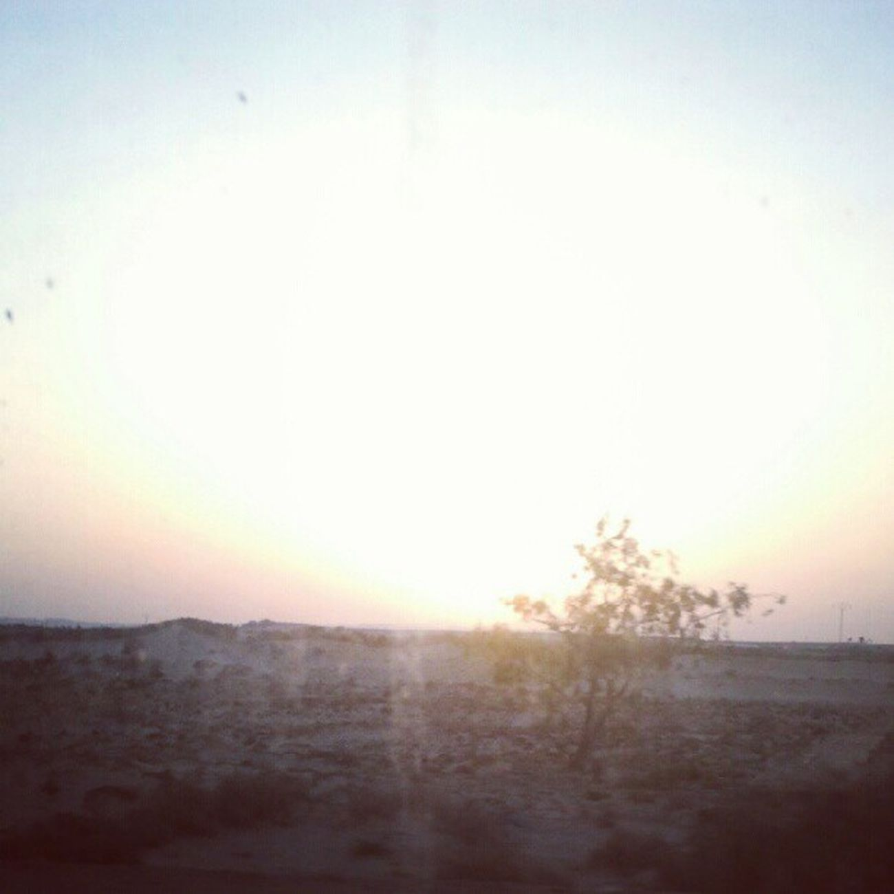 Sunset South Tunisia Jemna Douz