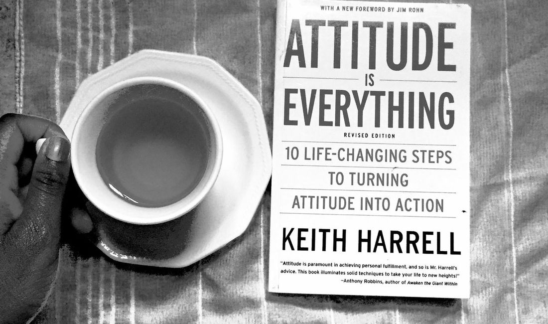 Attitude is everything Relaxing reading
