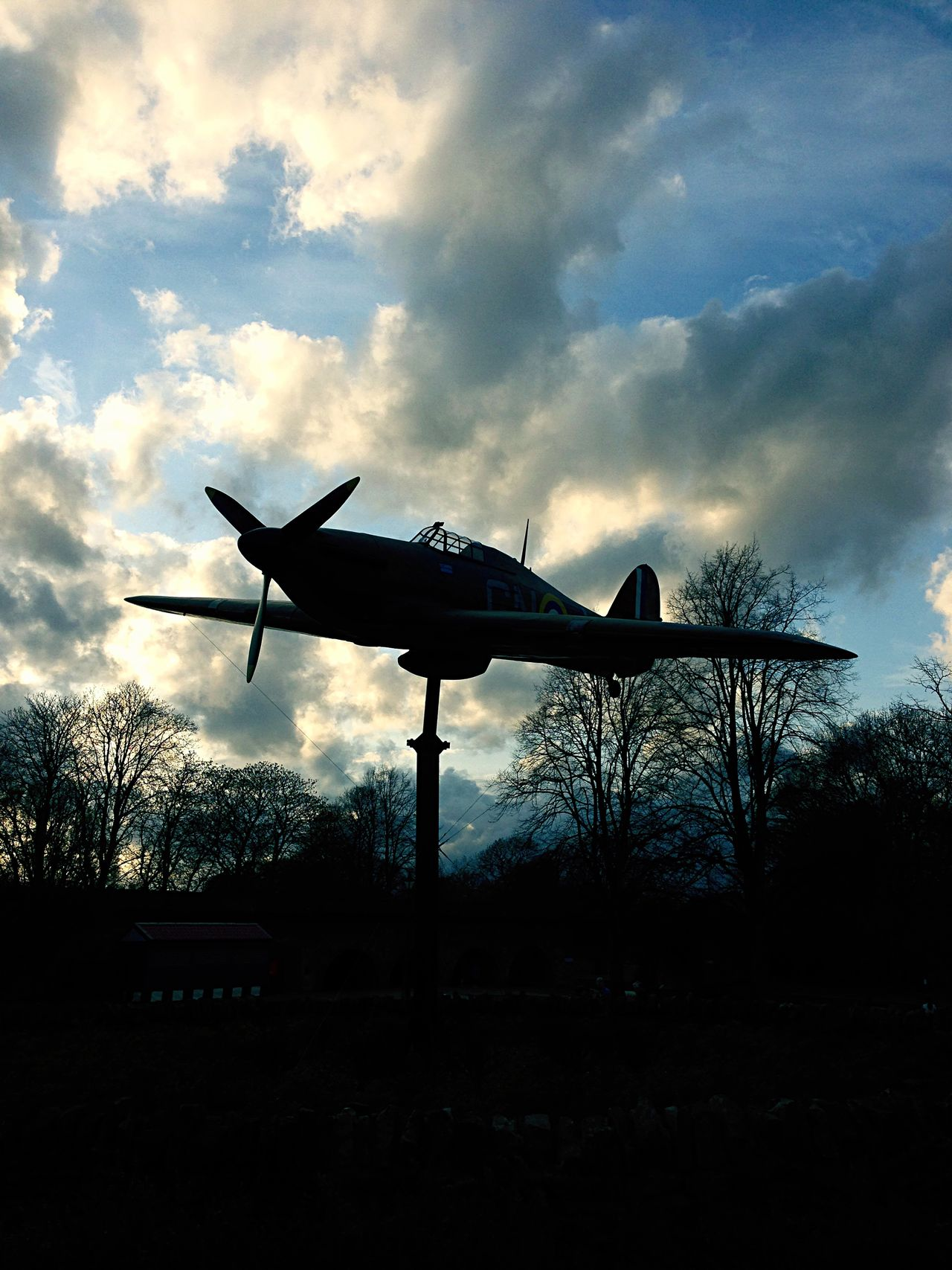 Beautiful stock photos of hurricanes, Bare Tree, Cloud - Sky, Cloudy, Hawker Hurricane