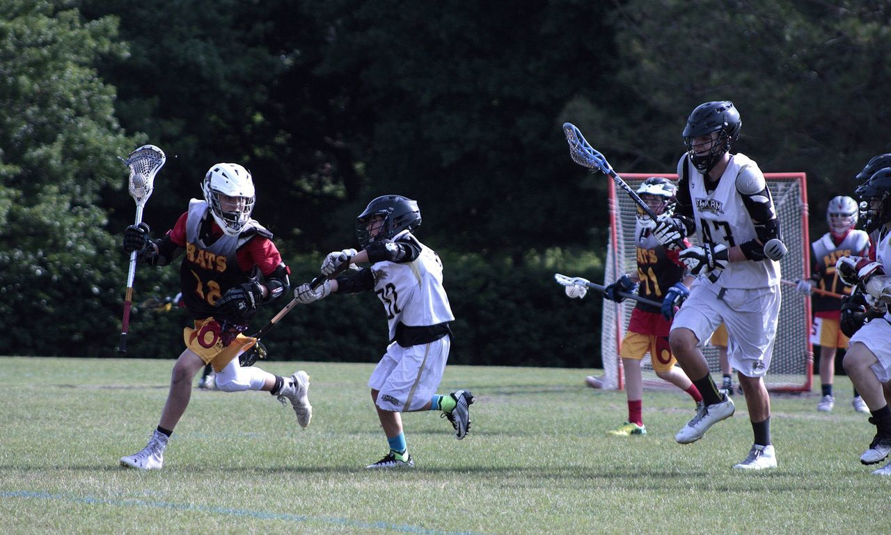 Smack Dat Add Hitting Lacrosse Sports Stick Youth Game Tournemant Orlando Florida Check This Out Rough