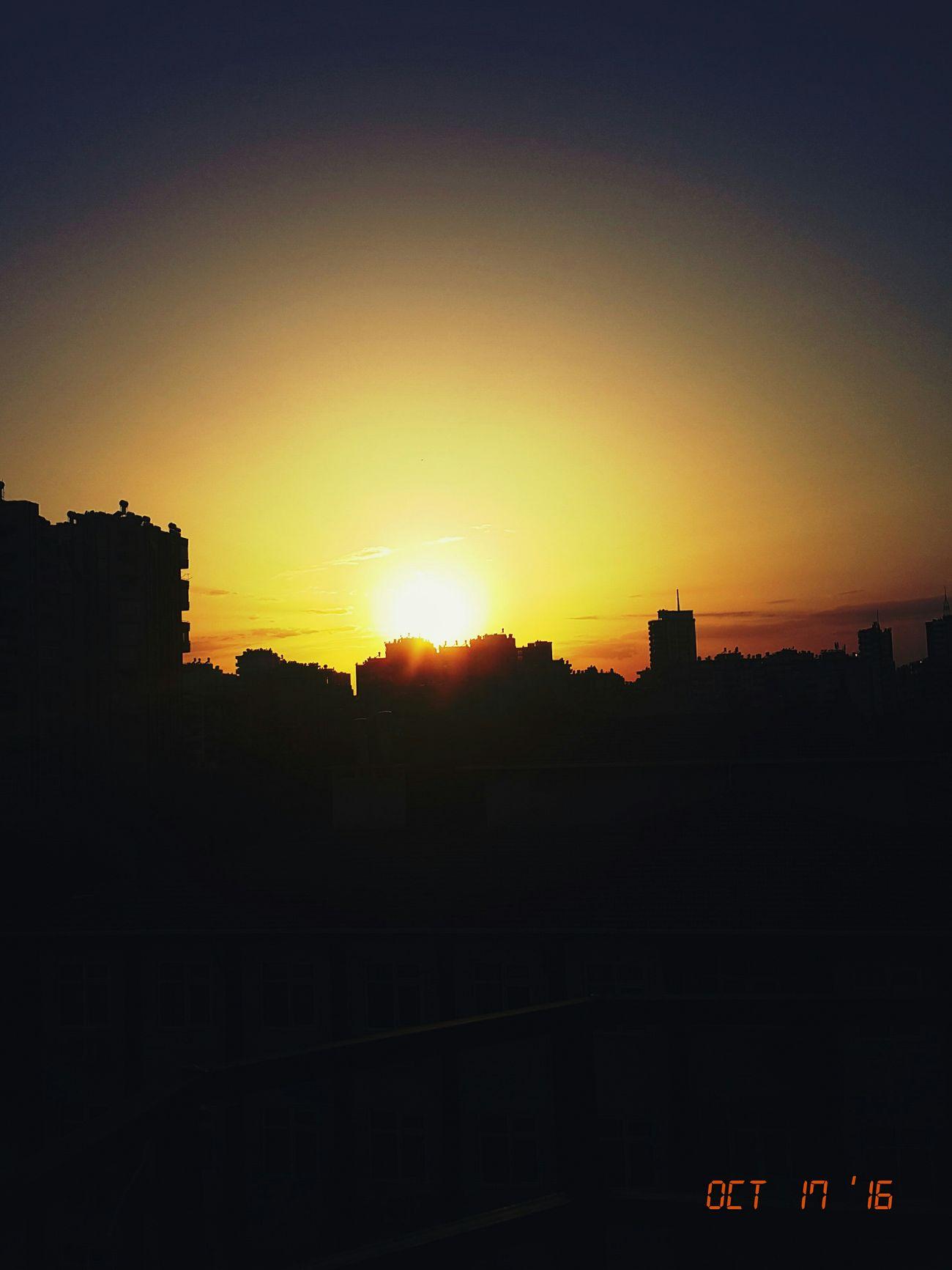 Gunbatimi Gununfotografi Gununkaresi Sunset Sunset Sky Outdoors Nature Tree Social Issues No People Cloud - Sky Beauty In Nature Day