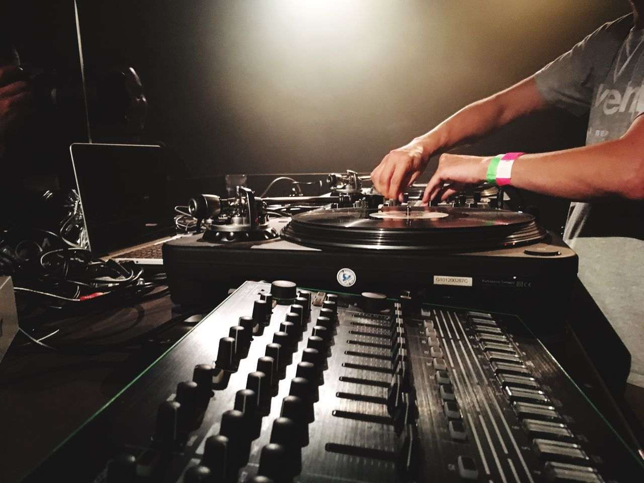 Beautiful stock photos of musik, Adjusting, Berlin, Club DJ, Germany