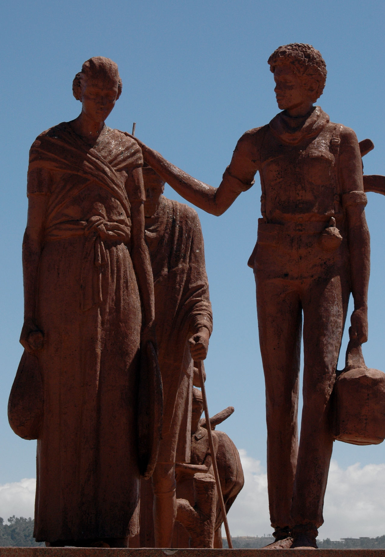 Africa African East Africa Ethereal Ethiopia Feminism Horn Of Africa Monument Political Street Art Propaganda 🤘🏼 Sculpture Statue Tigray Women Women Soldiers