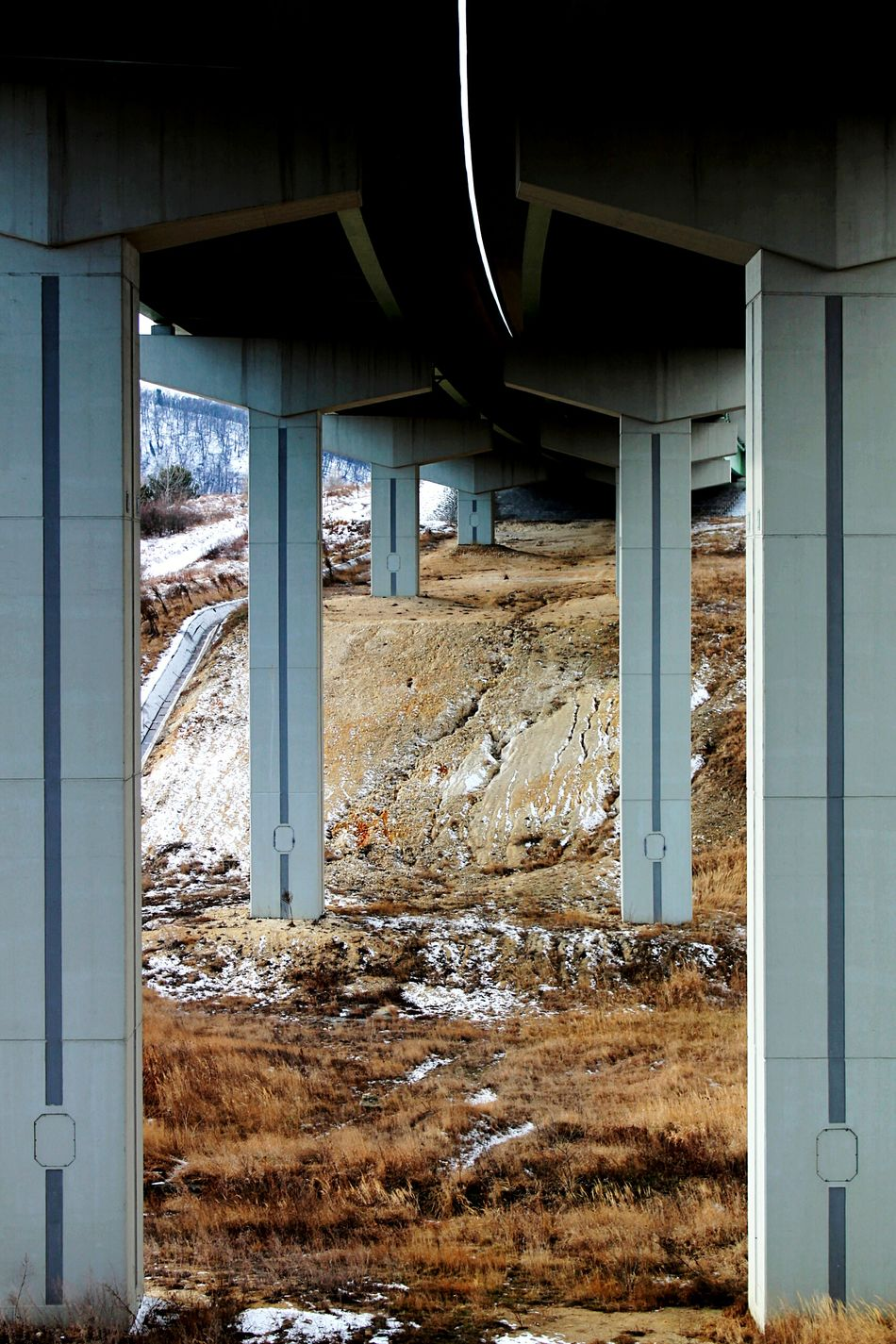 Under the bridge Winter Architectural Column Day Built Structure ViaduktArchitecture Hungary Marko Viaduct No People Adapted To The City Bridge The City Light
