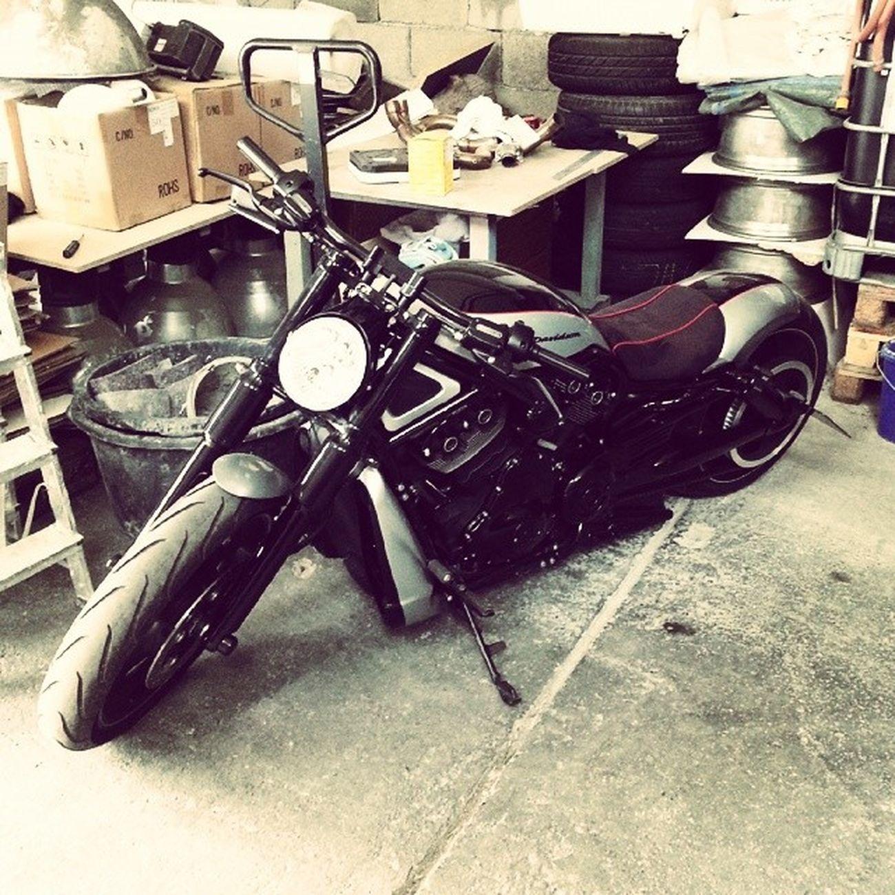 Brutal Custombike Geile Maschine Harleydavidson Nice Instabike Brutaler Sound