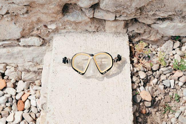 Ready for a dive Snorkeling Snorkling Mask Snorkeling Mask Yellow Taking Photos Italy🇮🇹 Holiday Garda Lake