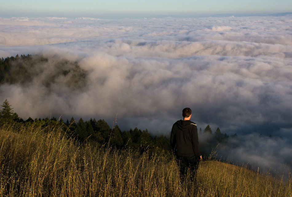 Beautiful stock photos of san francisco, 30-34 Years, Beauty In Nature, Casual Clothing, Cloudscape