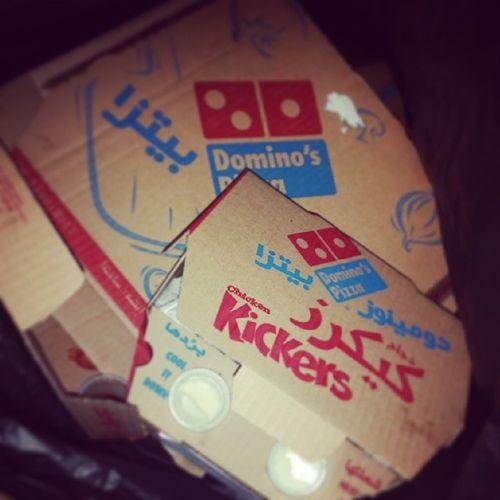 بعد مابلعنا ??? اكل بيتزا دومينوز_بيتزا ليل بيبسي