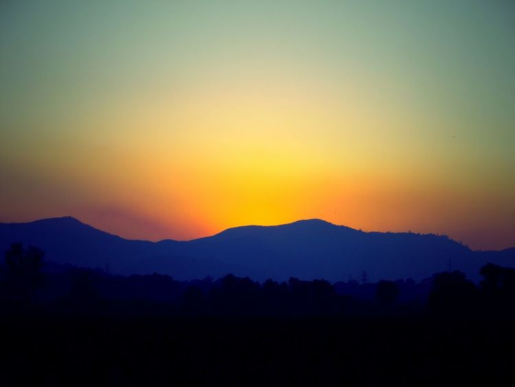 Sunset Silhouette Mountain Dramatic Sky Landscape Nature Beauty In Nature No People Sky Outdoors Scenics Fire Non-urban Scene View Day Lake County, Ca Wildfiresmoke Wildfire Mountain Range Beauty In Nature Nature Dramatic Sky Silhouette