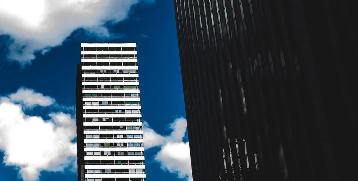 blue. NYC Sky Newyork Newyorkcity Build Clouds