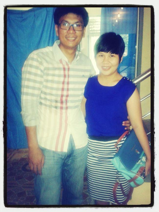 with lovely wife @ekasrichan