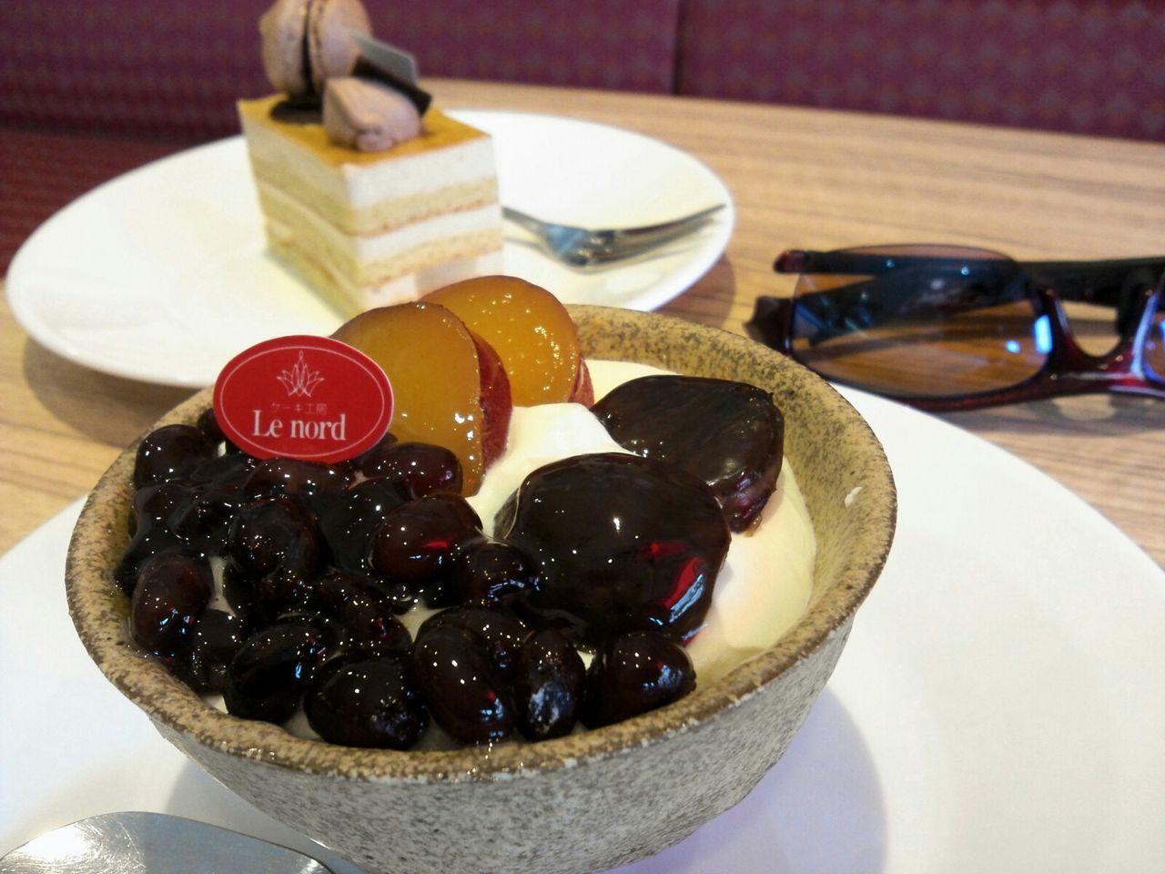 栗の和風スイーツ!😋  栗大好き!😍 Taking Photos The Foodie - 2015 EyeEm Awards Japanese Sweets スイーツ部 Sweets スイーツ Fresh Scent 大好き Marron 栗