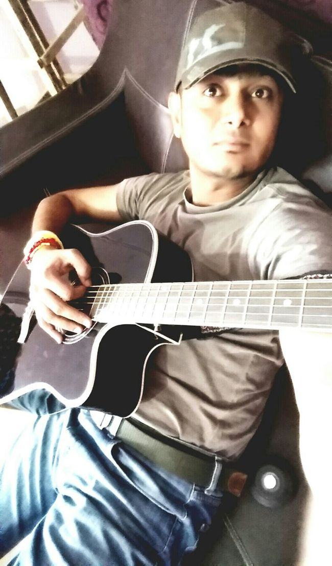Ambitious No Hate Just Love Share Love Only Waiting For True Love Hello World Karachi Rockstar Going To Rock Guitarist Musician