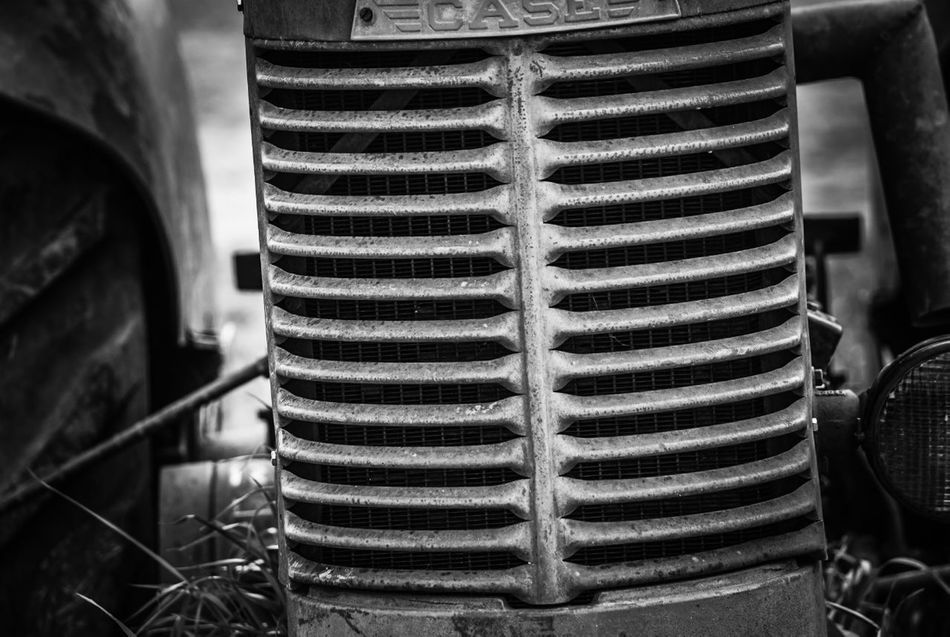 Black And White Blackandwhite EyeEm EyeEm Gallery Farm Equipment Farming Fresh On Eyeem  No People Old Machinery Oregon Tractors Woodburn