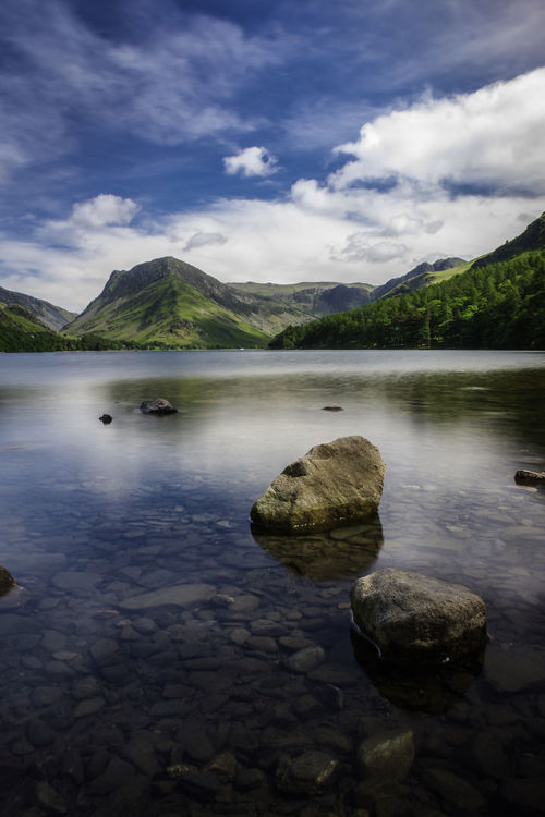 Buttermere, Cumbria Beauty In Nature Cloud - Sky Day Lake Mountain Mountain Range Nature No People Outdoors Reflection Rock - Object Scenics Sky Tranquil Scene Tranquility Water Waterfront